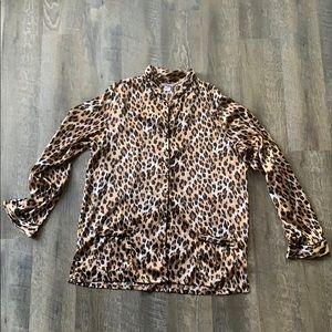 Leopard Print Victoria Secret Top